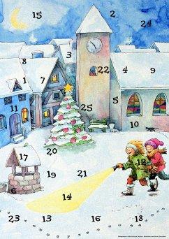Lena und die Weihnachtsdetektive. Fensterbild-Adventskalender - Bley, Claudia; Weinmann, Anne