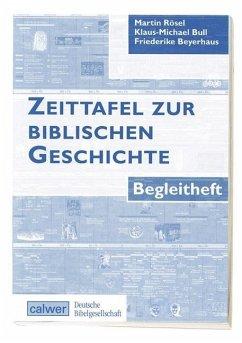 Zeittafel zur Bibel inklusive Begleitheft - Rösel, Martin / Bull, Klaus-Michael / Beyerhaus, Friederike
