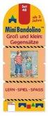 Groß und klein: Gegensätze (Kinderspiel) / MiniBandolino (Spiele) Set.48