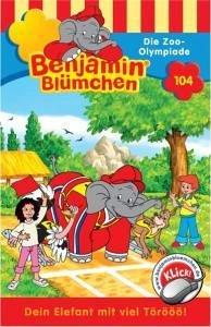 Benjamin Blümchen - Die Zoo-Olympiade, 1 Cassette - Donnelly, Elfie