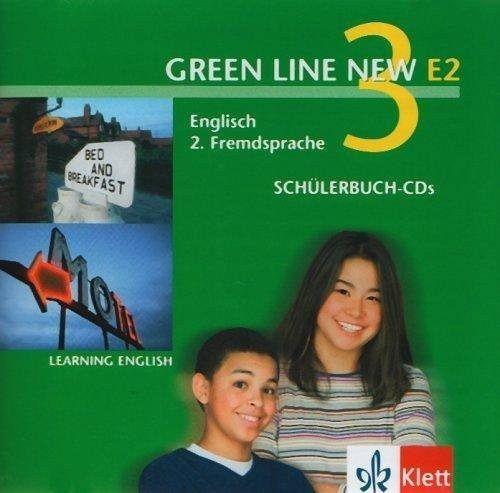 2 sch lerbuch audio cds 3 lernjahr green line new e2. Black Bedroom Furniture Sets. Home Design Ideas