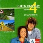 2 Schülerbuch-Audio-CDs, 8. Schuljahr / Green Line New, Ausgabe für Bayern Bd.4