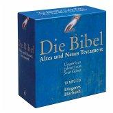 Die Bibel (unrevidierte Elberfelder Übersetzung), 10 MP3-CDs / Bibelausgaben Diogenes