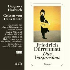 Das Versprechen, 4 Audio-CDs - Dürrenmatt, Friedrich