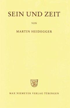 Gesamtausgabe Abt. 1 Veröffentlichte Schriften Bd. 2. Sein und Zeit - Heidegger, Martin