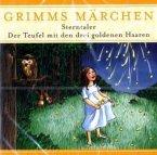 Sterntaler; Der Teufel mit den drei goldenen Haaren, 1 Audio-CD / Grimms Märchen, Audio-CDs