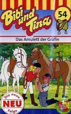 Bibi und Tina 54. Das Amulett der Gräfin. Cassette