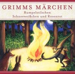 Rumpelstilzchen / Schneeweißchen und Rosenrot, 1 Audio-CD / Grimms Märchen, Audio-CDs - Grimm, Jacob; Grimm, Wilhelm