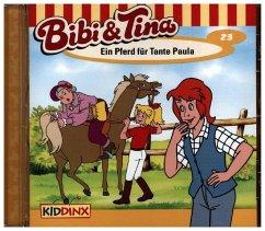 Ein Pferd für Tante Paula / Bibi & Tina Bd.23 (1 Audio-CD) - Tiehm, Ulf