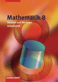 Mathematik Denken und Rechnen 8. Arbeitsheft in Nordrhein-Westfalen