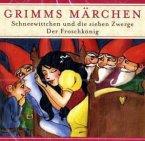 Schneewittchen und die 7 Zwerge / Der Froschkönig, 1 Audio-CD / Grimms Märchen, Audio-CDs