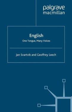 English - One Tongue, Many Voices - Svartvik, Jan;Leech, Geoffrey