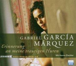 Erinnerung an meine traurigen Huren, 4 Audio-CDs - García Márquez, Gabriel