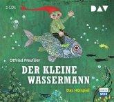 Der kleine Wassermann / Bd.1, 2 Audio-CDs