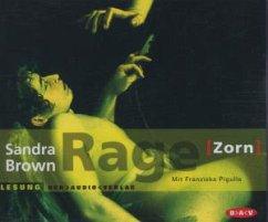 Rage - Zorn, 5 Audio-CDs - Brown, Sandra