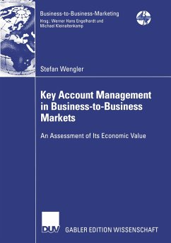 Key Account Management in Business-to-Business Markets