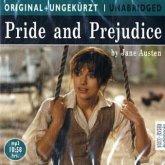 Pride and Prejudice, 1 MP3-CD\Stolz und Voruteil, 1 MP3-CD, engl. Version