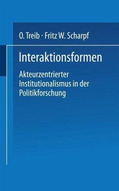 Interaktionsformen - Scharpf, Fritz W.