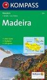 Kompass Karte Madeira