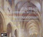 Complete Bach Cantatas Vol.22