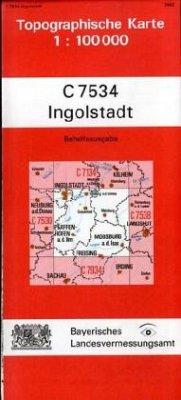 Landesamt Für Digitalisierung, Vermessung Bayern Topographische Karte Bayern Ingolstadt