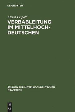 Verbableitung im Mittelhochdeutschen