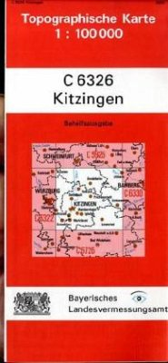 Landesamt Für Digitalisierung, Vermessung Bayern Topographische Karte Bayern Kitzingen
