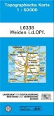 Topographische Karte Bayern Weiden i. d. OPf.