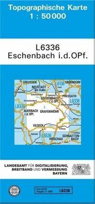 Topographische Karte Bayern.Topographische Karte Bayern Eschenbach I D Opf