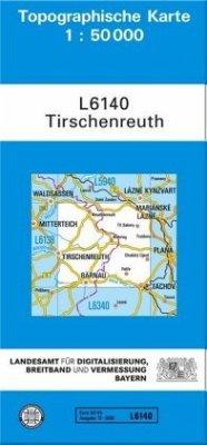 Topographische Karte Bayern Tirschenreuth