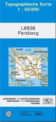 Landesamt Für Digitalisierung, Vermessung Bayern Topographische Karte Bayern Parsberg