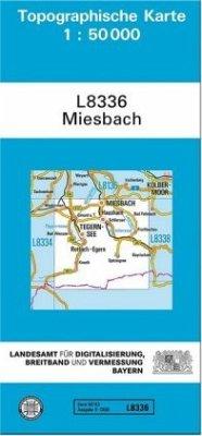 Landesamt Für Digitalisierung, Vermessung Bayern Topographische Karte Bayern Miesbach