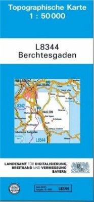Landesamt Für Digitalisierung, Vermessung Bayern Topographische Karte Bayern Berchtesgaden