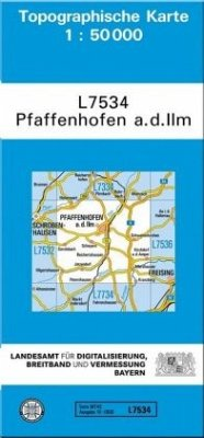 Landesamt Für Digitalisierung, Vermessung Bayern Topographische Karte Bayern Pfaffenhofen a. d. Ilm