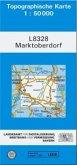 Topographische Karte Bayern Marktoberdorf