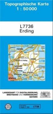 Landesamt Für Digitalisierung, Vermessung Bayern Topographische Karte Bayern Erding