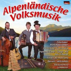 Alpenländische Volksmusik, 1 Audio-CD - Various