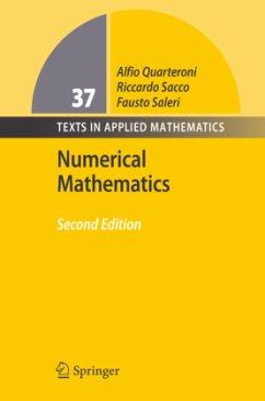 Numerical Mathematics - Quarteroni, Alfio; Sacco, Riccardo; Saleri, Fausto