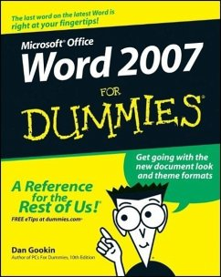 Microsoft Office Word 2007 for Dummies - Gookin, Dan