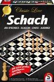 Schmidt Spiele 49082 - Schach Classic Line, extra große Spielfiguren aus Holz