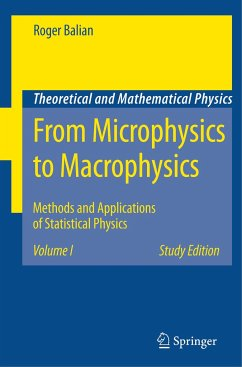 From Microphysics to Macrophysics 1 - Balian, Roger