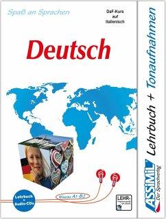 Lehrbuch, m. 4 Audio-CDs / Assimil Il Tedesco Collana Senza Sforzo