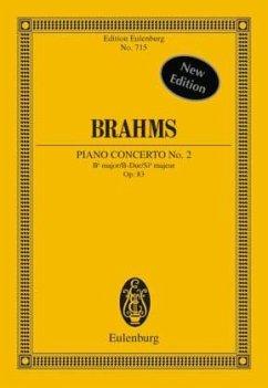 Klavierkonzert Nr.2 B-Dur op.83, Partitur