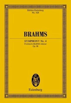 Sinfonie Nr.4 e-Moll op.98, Partitur - Brahms, Johannes