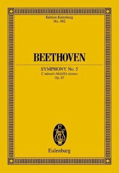 Sinfonie Nr.5 c-Moll op.67, Partitur - Beethoven, Ludwig van