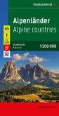 Freytag & Berndt Autokarte Alpenländer; Los Alpes; Alpen; The Alps; Les Alpes; Alpi