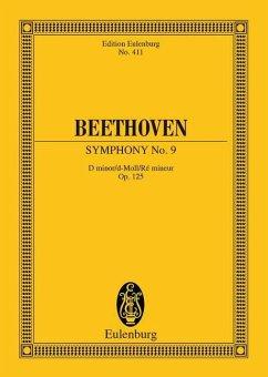 Sinfonie Nr.9 d-Moll op.125 (Choral), Partitur - Beethoven, Ludwig van
