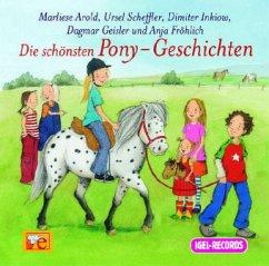 Die schönsten Pony-Geschichten. CD