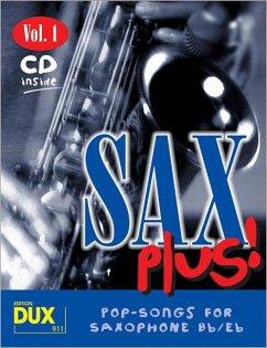 Sax Plus!, m. Audio-CD - Himmer, Arturo