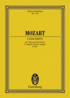 Klavierkonzert Nr.21 C-Dur KV 467, Partitur - Mozart, Wolfgang Amadeus